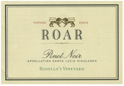 2017 ROAR Pinot Noir 'ROSELLA VINEYARD' 750ML