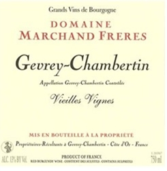 2016 DOMAINE MARCHAND FRERES CHAMBOLLE MUSIGNY VIGNES VIELLES  750ML