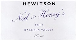 2017 HEWITSON SHIRAZ NED & HENRY'S 750ML
